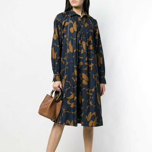 Marni Smock Print Dress